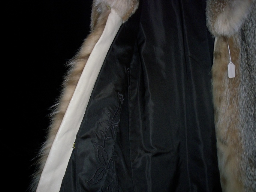 Full Length Lynx Fur Coat